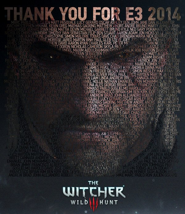 Все за прошедшее время о The Witcher 3: Wild Hunt  The Witcher 3: Wild Hunt на Е3.   На Е3 CD Projekt RED привезли н ... - Изображение 2