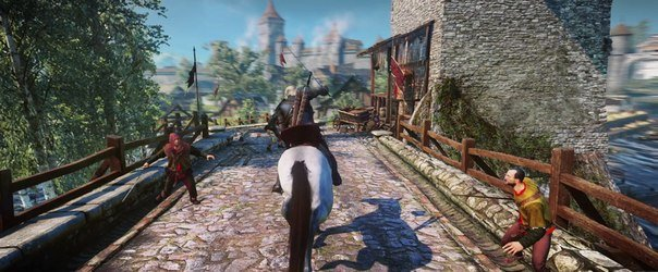 Все за прошедшее время о The Witcher 3: Wild Hunt  The Witcher 3: Wild Hunt на Е3.   На Е3 CD Projekt RED привезли н ... - Изображение 10