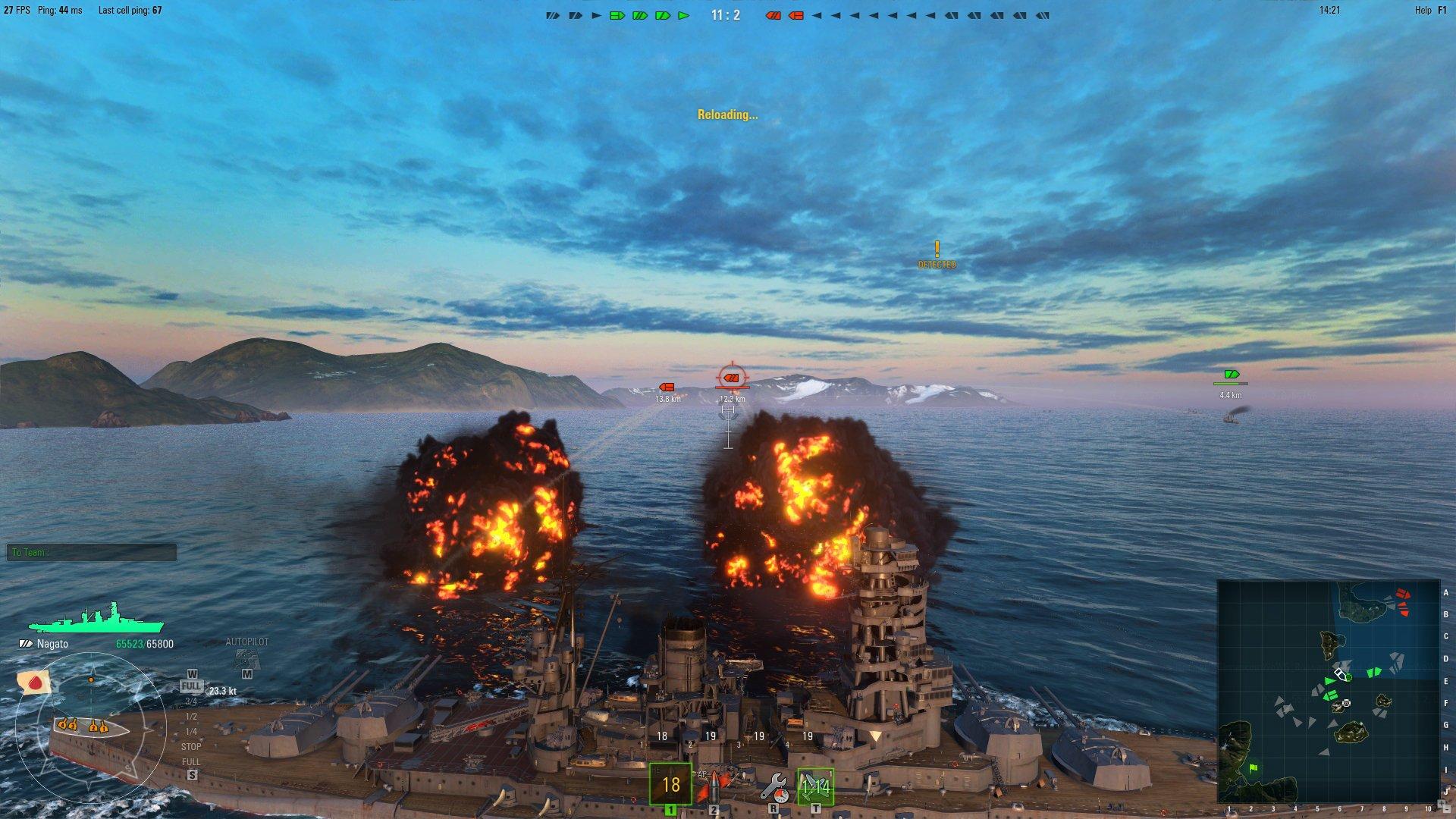 World of Warships впервые показала интерфейсы - Изображение 1