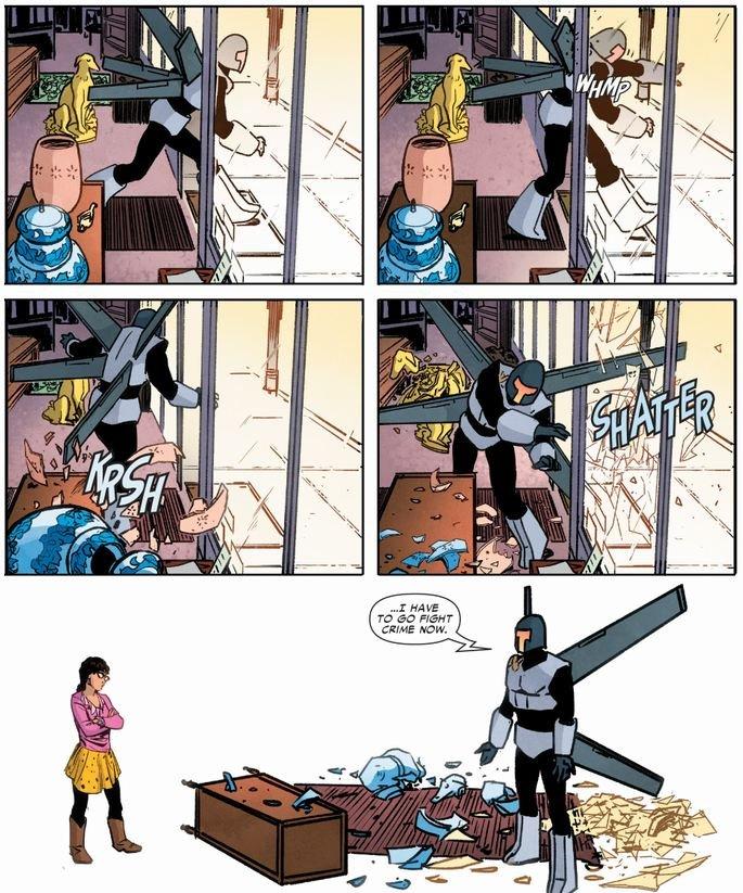 Superior foes of spider-man все же временами выдает отличные гэги. Простенько, но уморительно. - Изображение 1