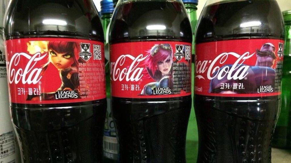Coca-Cola с чемпионами League of Legends! - Изображение 1
