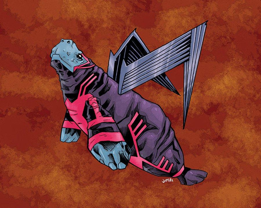 Супергерои ламантины - Изображение 17