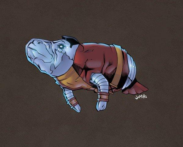 Супергерои ламантины - Изображение 19