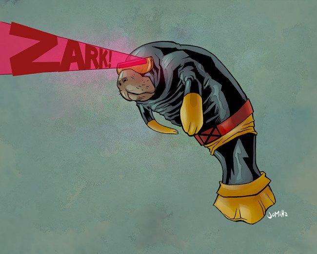 Супергерои ламантины - Изображение 15