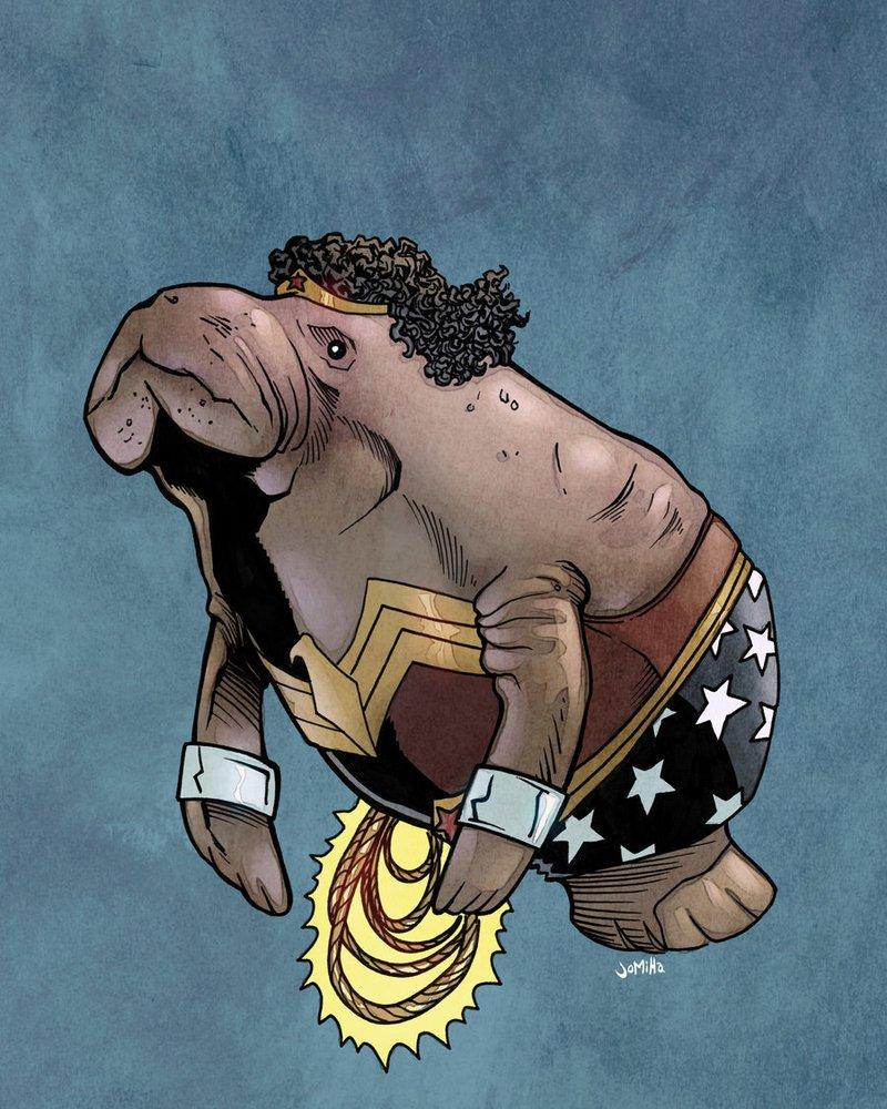 Супергерои ламантины - Изображение 11