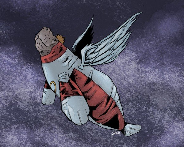 Супергерои ламантины - Изображение 18