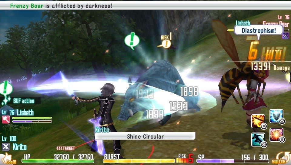 SAO: Hollow Fragment после 5 часов игры - Изображение 5