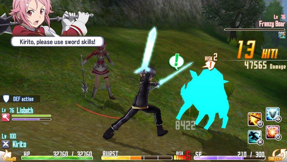 SAO: Hollow Fragment после 5 часов игры - Изображение 6