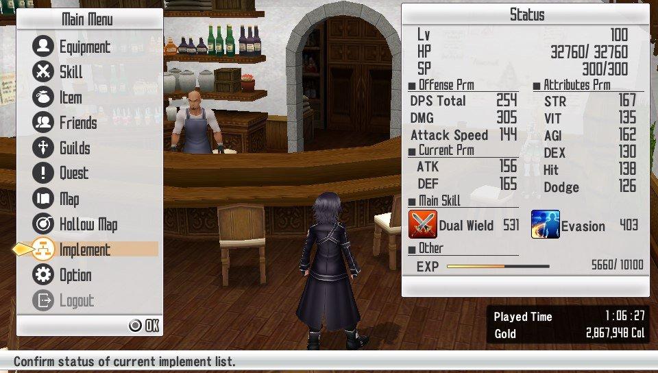 SAO: Hollow Fragment после 5 часов игры - Изображение 4