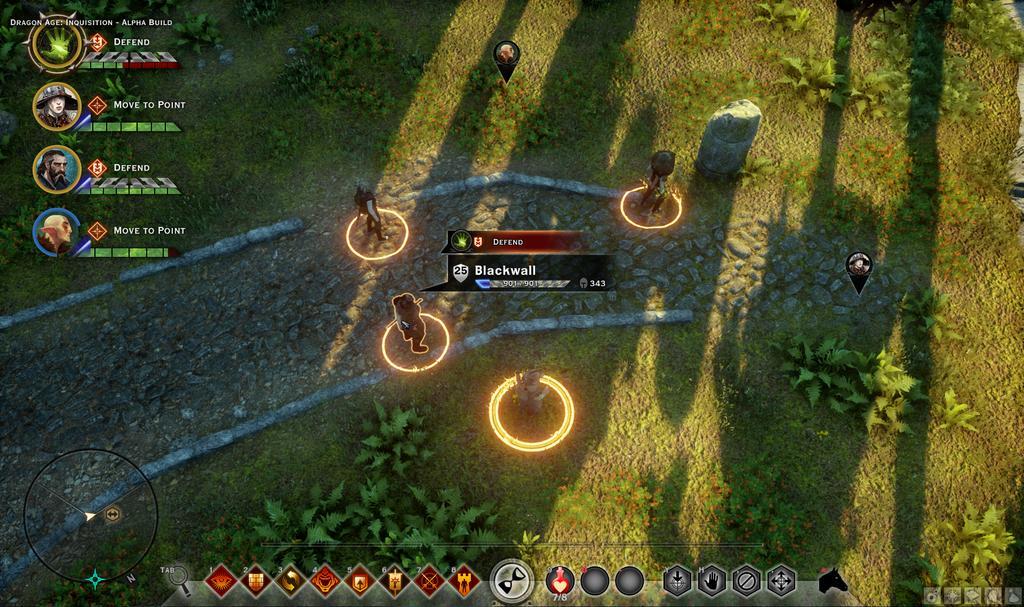 Многим было интересно посмотреть на тактический интерфейс «Dragon Age: Инквизиция» для PC — специально для них пер ... - Изображение 1