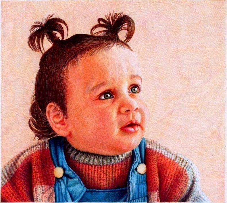 Картины шариковыми ручками от художника Samuel Silva. - Изображение 6