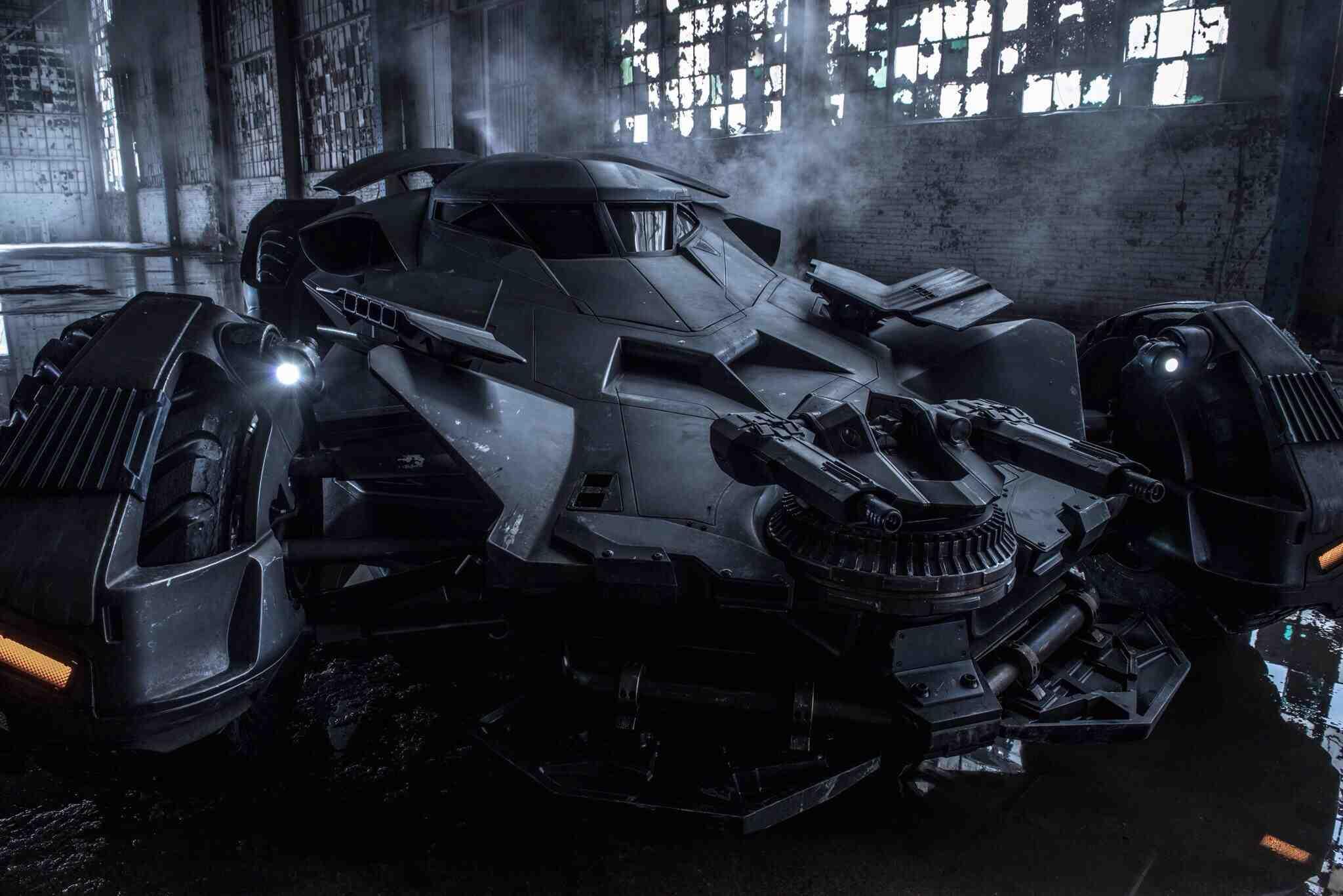 Зак Снайдер опубликовал новое фото нового Бэтмобиля в высоком качестве. - Изображение 1
