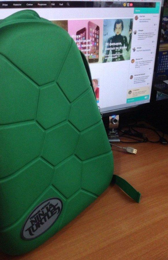 Рюкзак черепашки-ниндзя от Канобу :) - Изображение 1