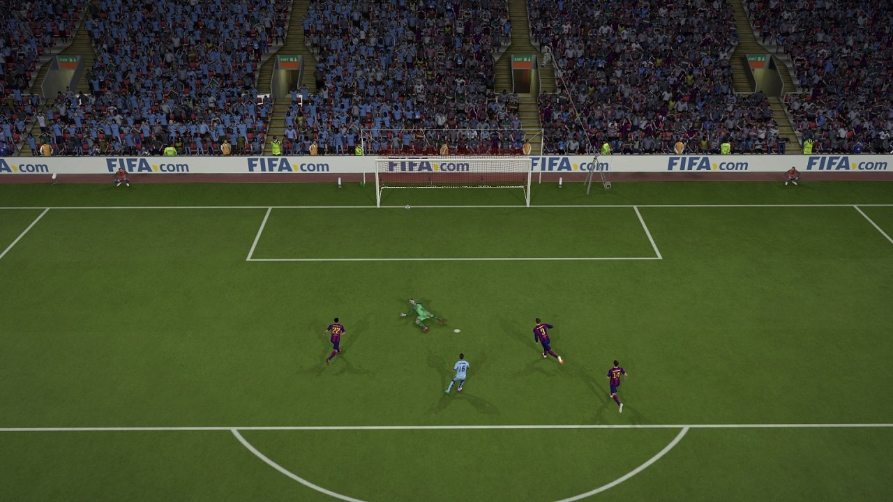 Я не такая какой была вчера.  Я FIFA 15 (обзор-анализ демо) - Изображение 5