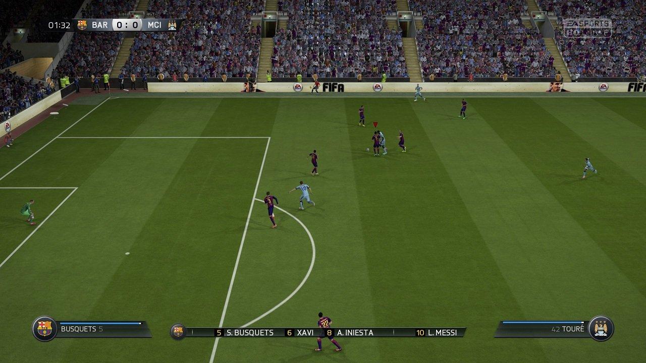 Я не такая какой была вчера.  Я FIFA 15 (обзор-анализ демо) - Изображение 4