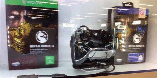 Для Mortal Kombat X будут выпускать такие вот геймпады - Изображение 1
