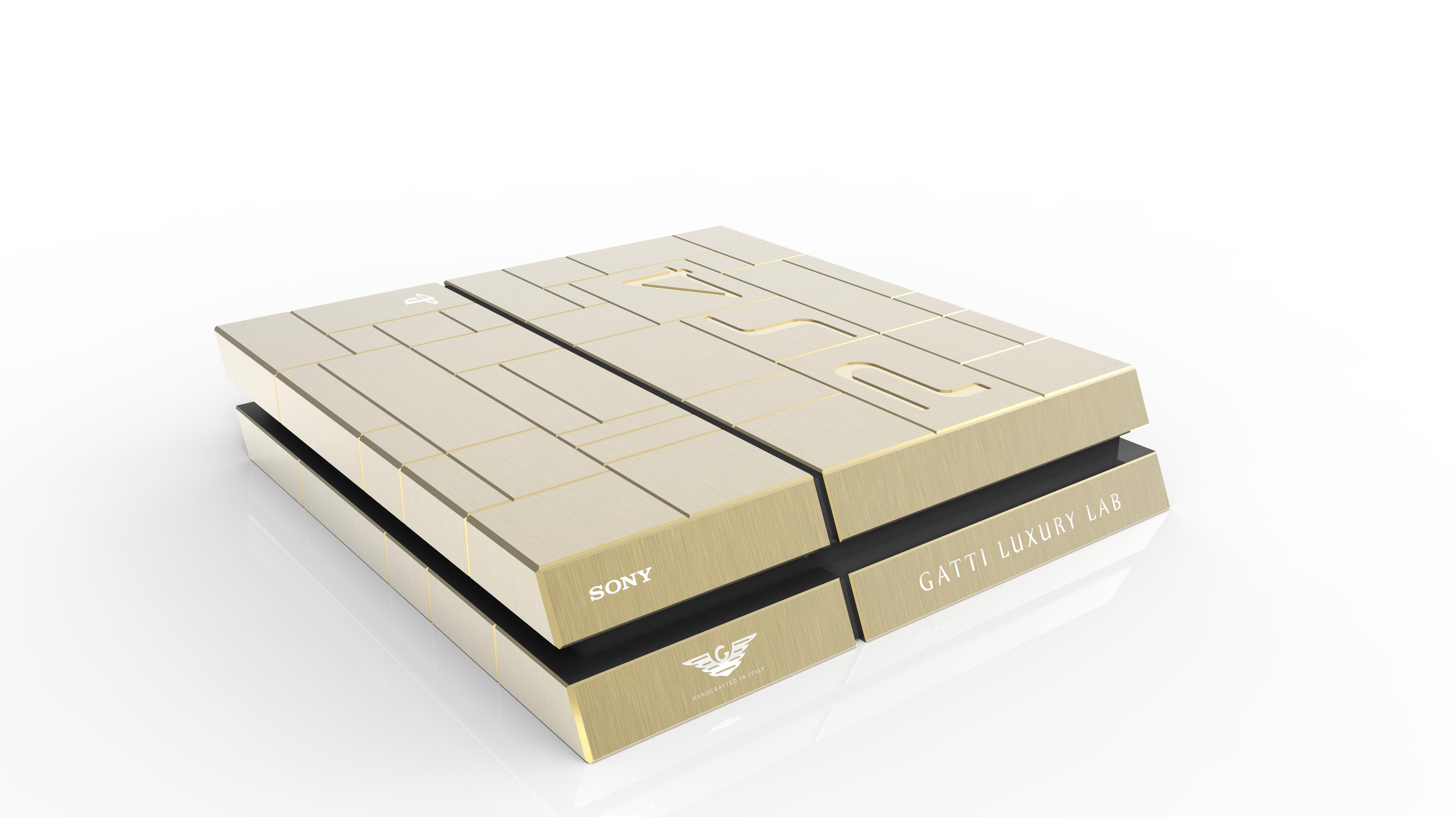 Золотые Xbox One и PlayStation 4 за 515 000 рублей - Изображение 2