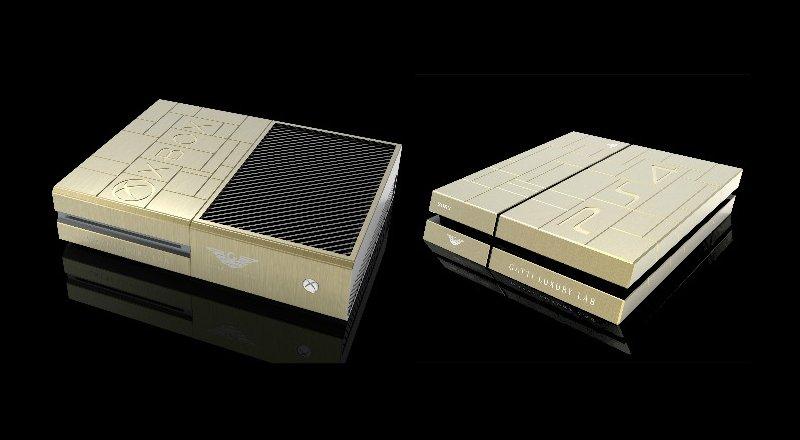 Золотые Xbox One и PlayStation 4 за 515 000 рублей - Изображение 1
