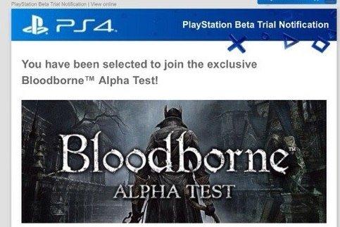 Срочно проверяйте свои почтовые ящики – Sony рассылает приглашения на альфу Bloodborne!   - Изображение 1
