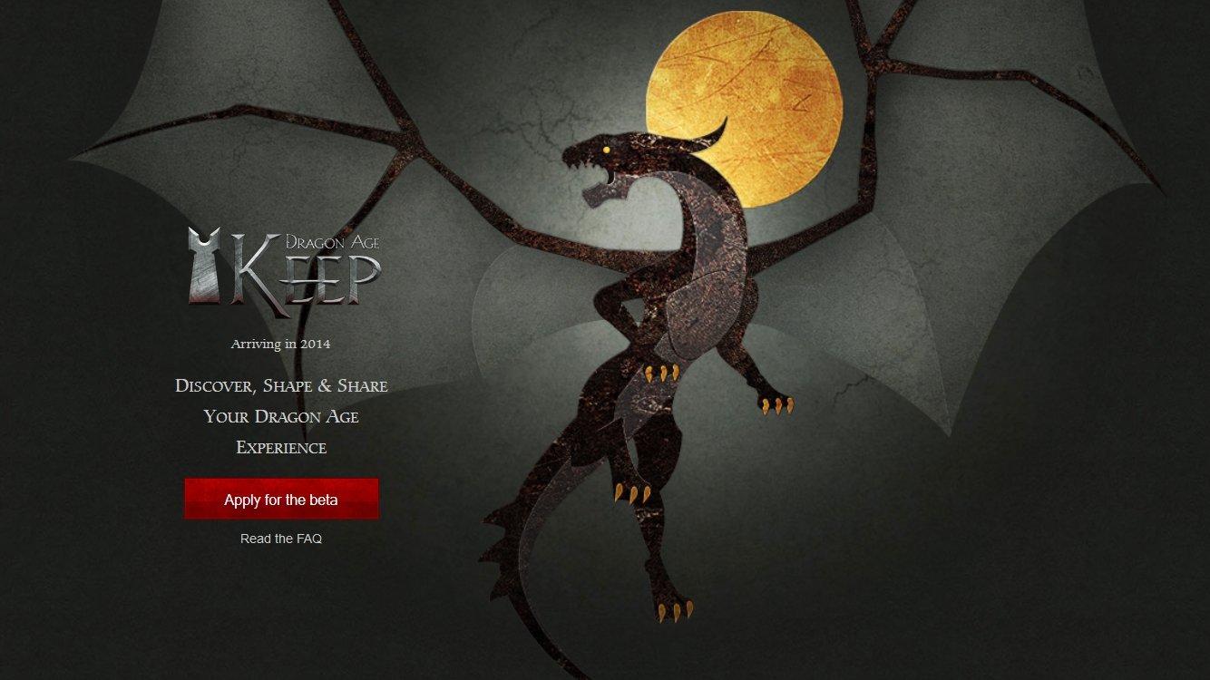 Для всех, кто переживал, будет ли версия Dragon Age Keep на русском, сообщаем: будет. - Изображение 1