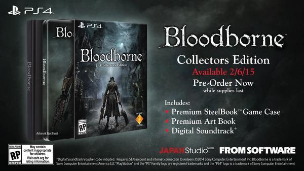 Bloodborne выходит эксклюзивно для Sony PlayStation 4  6 февраля 2015 - Изображение 1