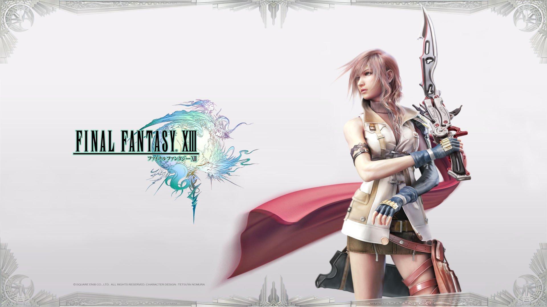 Final Fantasy XIII 9 октября в Steam - Изображение 1