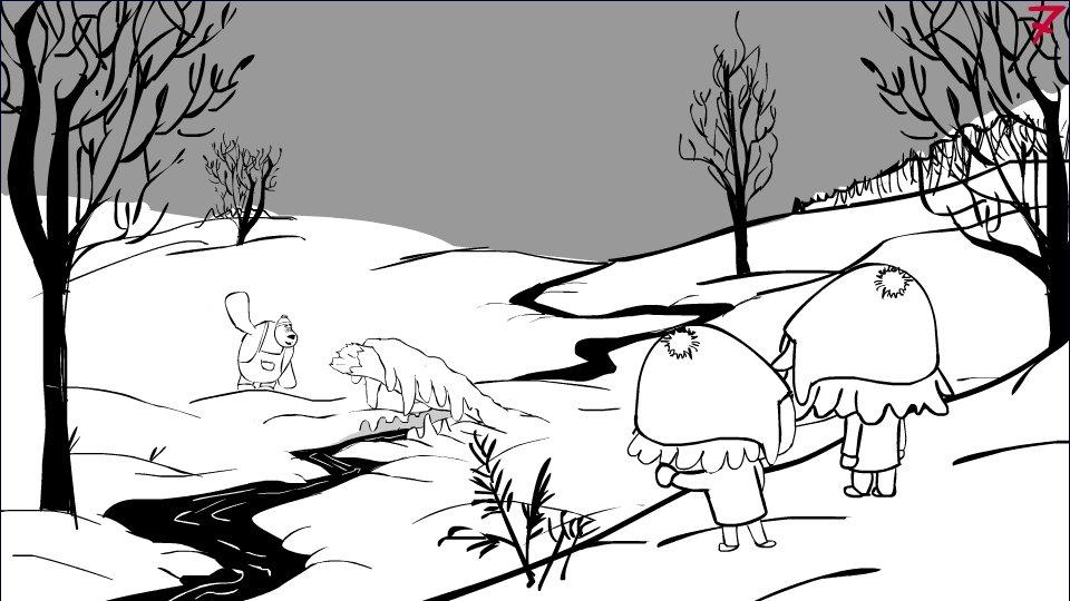 """Тырить у Брейгеля композицию для новой серии """"Малышей"""" - бесценно!  Прям смотрю и радуюсь!     - Изображение 1"""