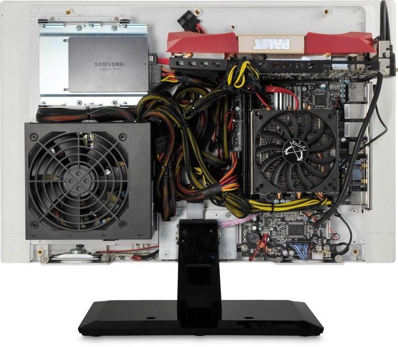 QuietPC Mono PC Chassis - моноблок контсруктор. - Изображение 3