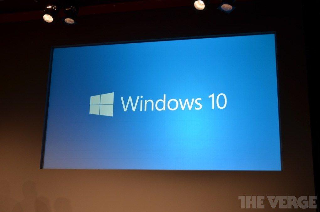 Итак, одна из главных тайн раскрыта: новый Windows назвали Windows 10. Неожиданно, а?   - Изображение 1