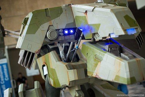 Косплей на Metal Gear REX - Изображение 5