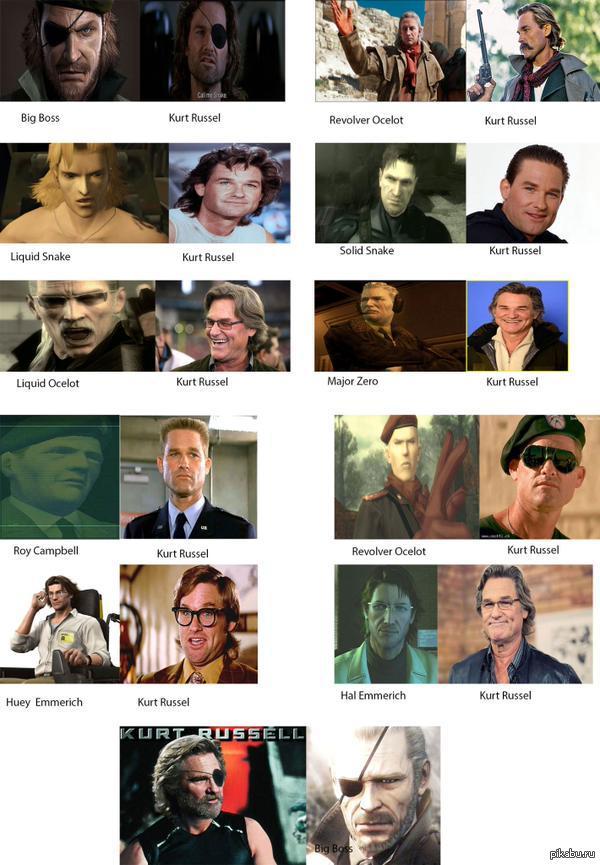 Прообразы героев серии Metal Gear - Изображение 1