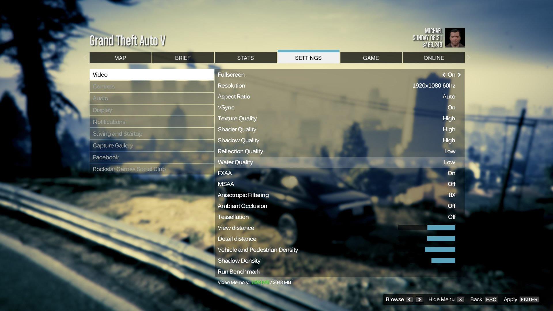 GTA V на PC – сравнение графики, частота и требование к железу - Изображение 1
