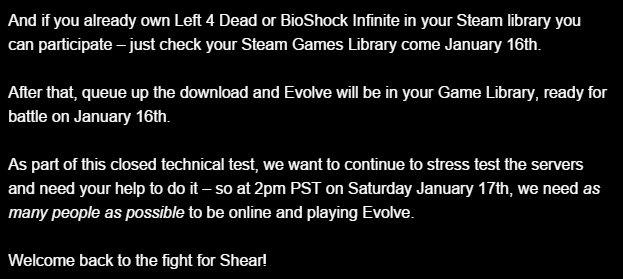 Evolve снова запускает бета тест - Изображение 3