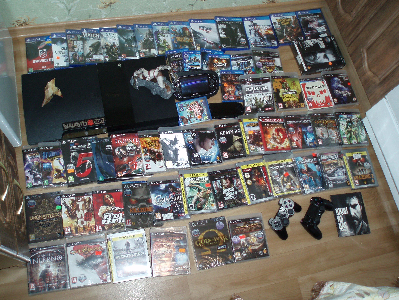 Моя коллекция PlayStatyon с 2010 года. - Изображение 1