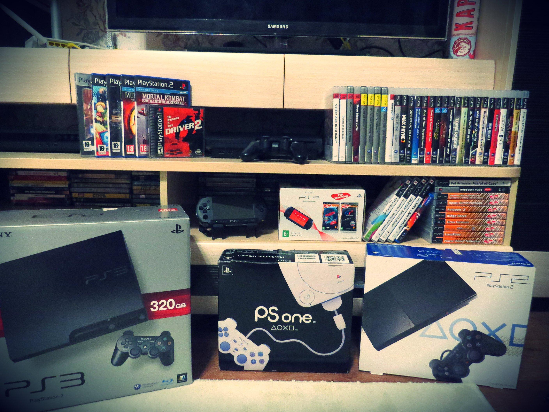 Моя коллекция PlayStation. - Изображение 1