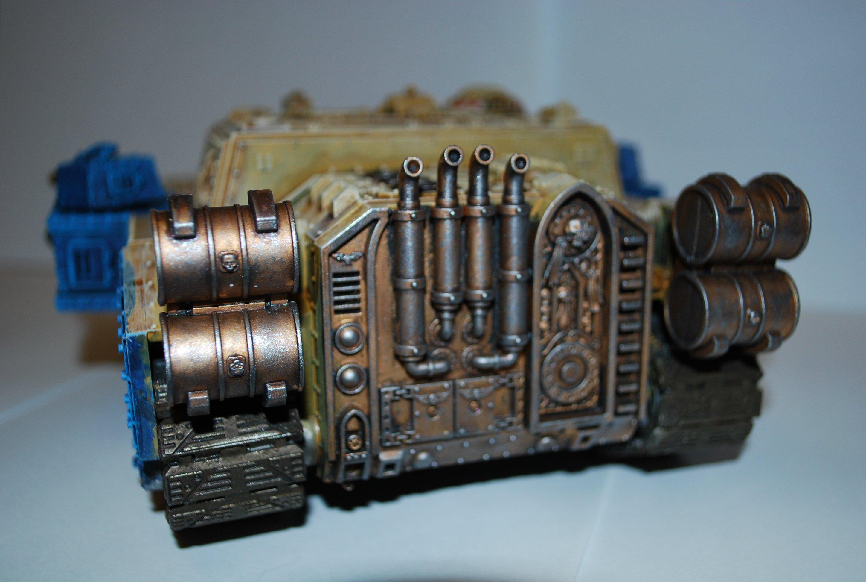 Покрас сверхтяжелого танка Stormsword (Warhammer 40000) для новичков, в 4 частях. - Изображение 5