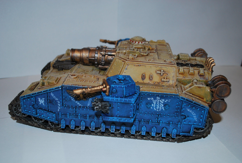 Покрас сверхтяжелого танка Stormsword (Warhammer 40000) для новичков, в 4 частях. - Изображение 3