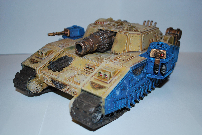 Покрас сверхтяжелого танка Stormsword (Warhammer 40000) для новичков, в 4 частях. - Изображение 2