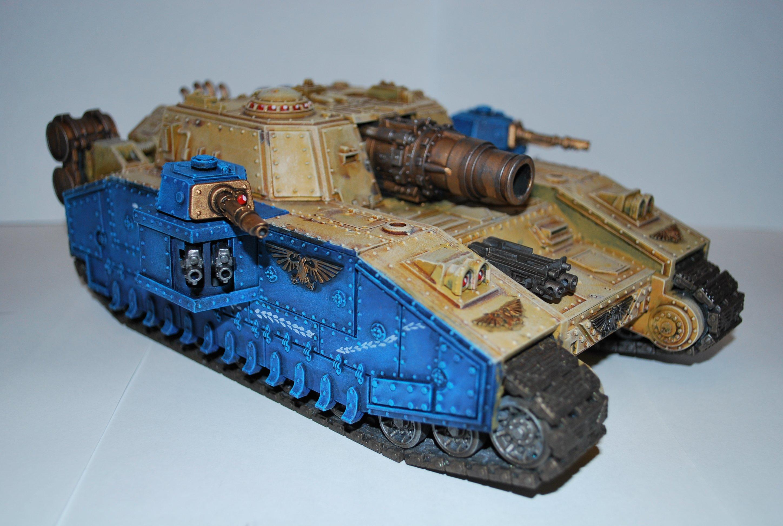 Покрас сверхтяжелого танка Stormsword (Warhammer 40000) для новичков, в 4 частях. - Изображение 6