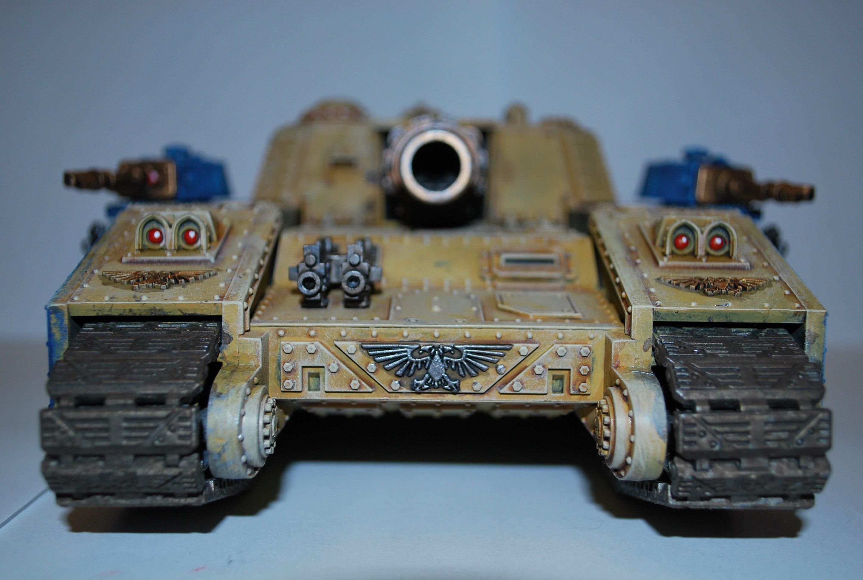Покрас сверхтяжелого танка Stormsword (Warhammer 40000) для новичков, в 4 частях. - Изображение 7