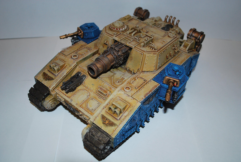 Покрас сверхтяжелого танка Stormsword (Warhammer 40000) для новичков, в 4 частях. - Изображение 4