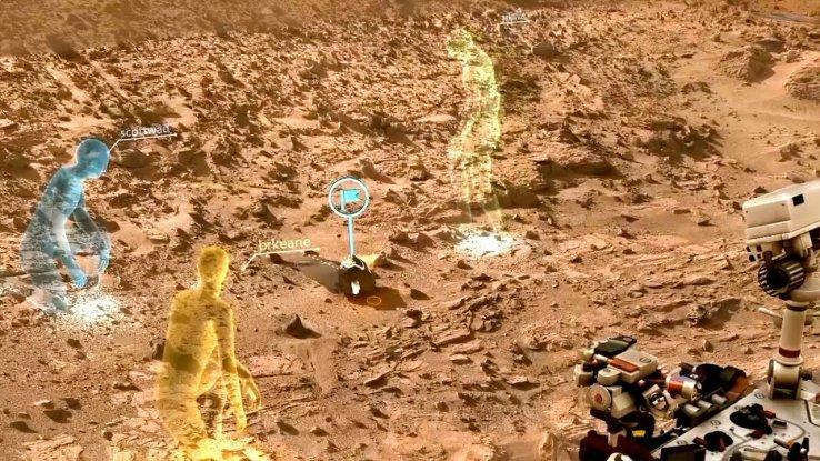 Как NASA будет использовать Microsoft HoloLens для исследования Марса? - Изображение 1