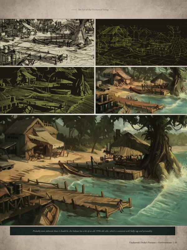 The Art of the Uncharted Trilogy. 184 страничный артбук приуроченный к 30-летию Ноти Богов. - Изображение 4