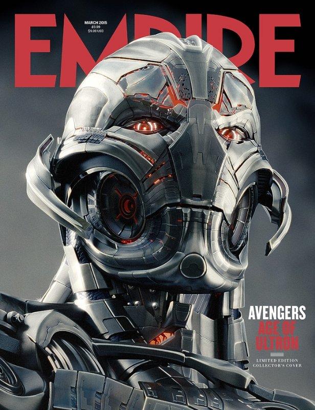 Мстители Эра Альтрона на обложке журнала Эмпайр. Санса о роли Джин Грей. Сайлара не будет.  - Изображение 1
