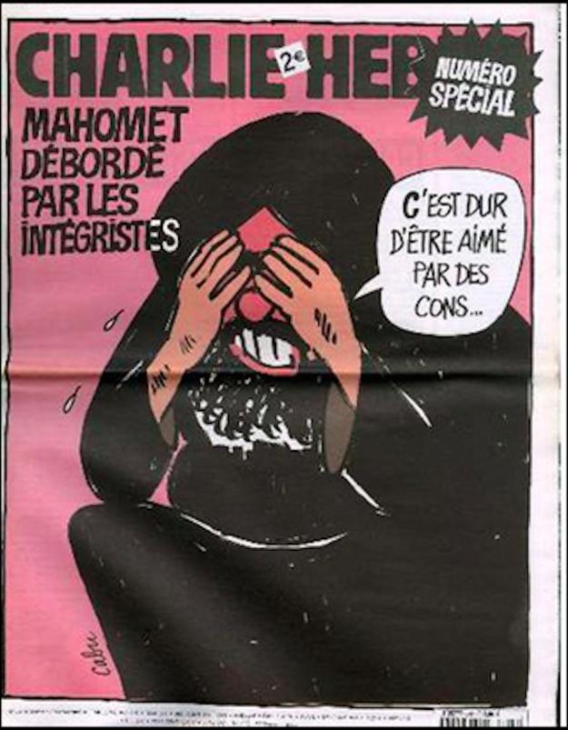 12 скандальных обложек Charlie Hebdo [18+] - Изображение 12