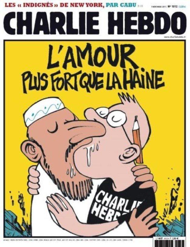 12 скандальных обложек Charlie Hebdo [18+] - Изображение 6