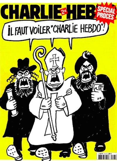 12 скандальных обложек Charlie Hebdo [18+] - Изображение 3