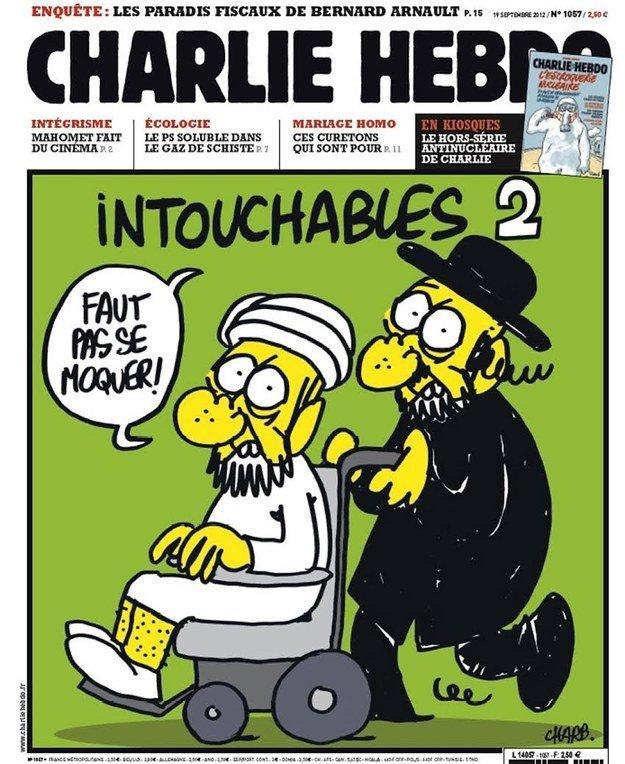 12 скандальных обложек Charlie Hebdo [18+] - Изображение 11