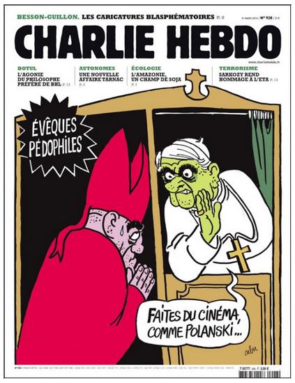 12 скандальных обложек Charlie Hebdo [18+] - Изображение 2