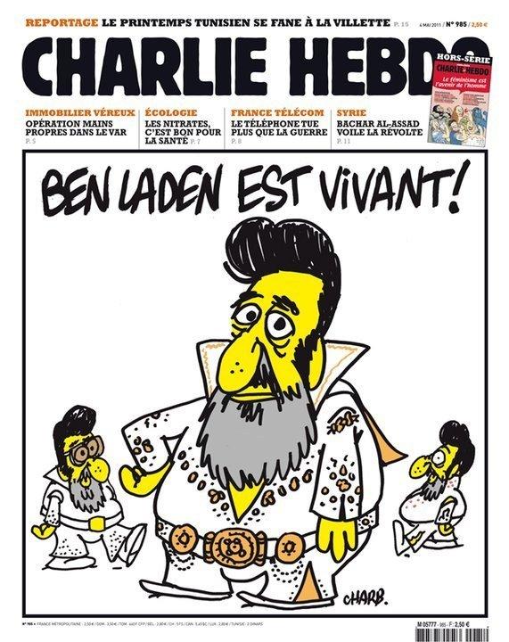 12 скандальных обложек Charlie Hebdo [18+] - Изображение 8